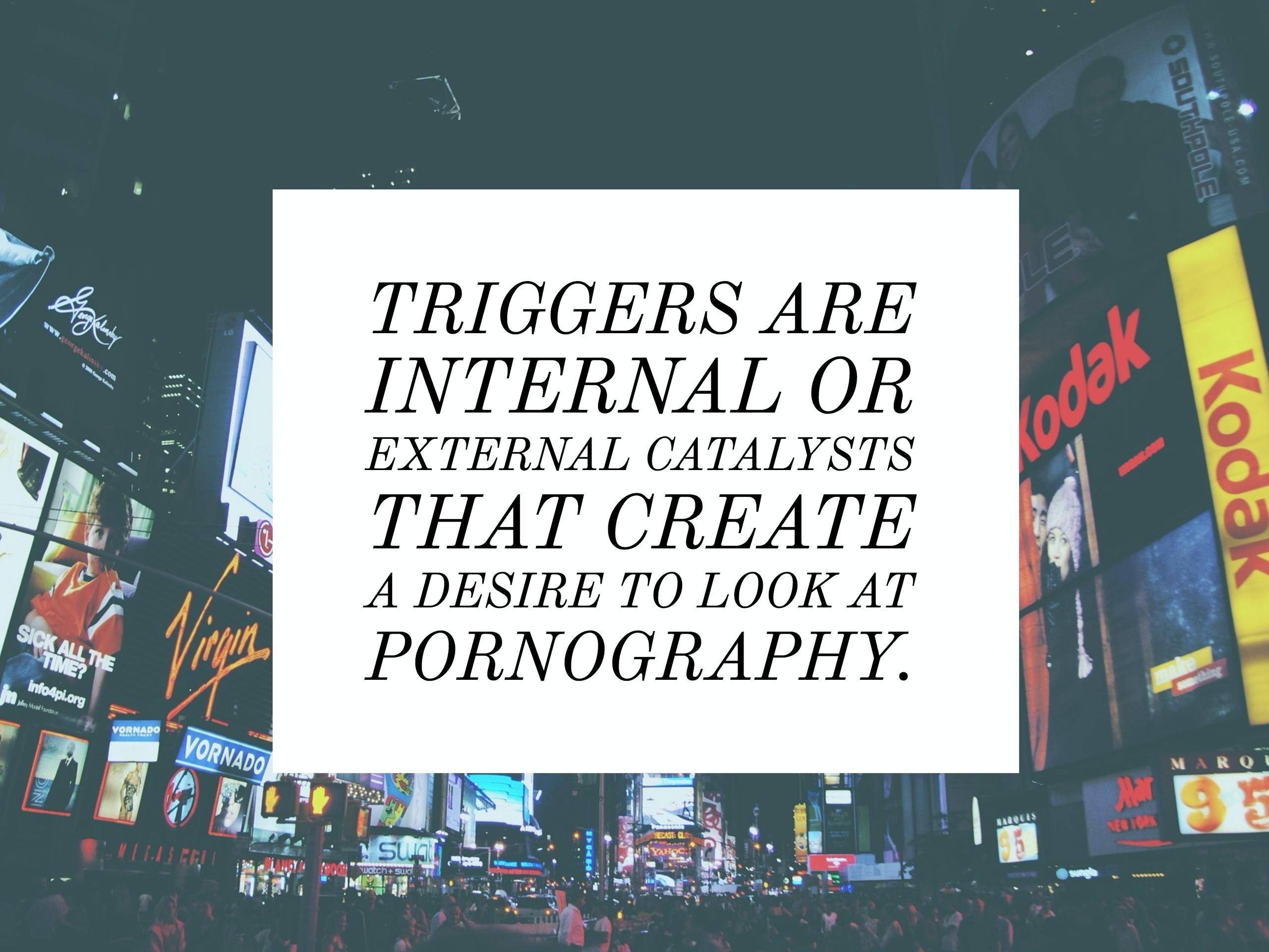 Porn Triggers - Internal and External