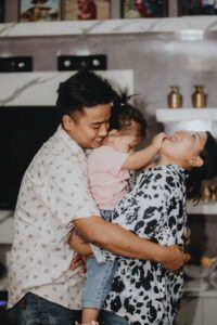 Asian family hugging. www.everaccountable.com.blog